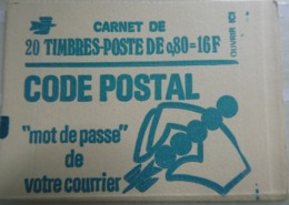 FRANCE 1976 Carnet N ° 1893 - C1 **  - Type Bequet 0,80 Ct Vert Cote : 46 Euros - Uso Corrente
