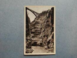CORPS  -  38  -  Le Gouffre Et Le Pont Du Sautet  -  Isère - Corps