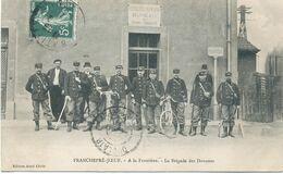 54  - FRANCHEPRE-JOEUF : A La Frontière - La Brigade Des Douanes - Other Municipalities