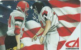 ESTADOS UNIDOS. American Football - Flag. US-GLI-CA-0001E. (194) - Vereinigte Staaten