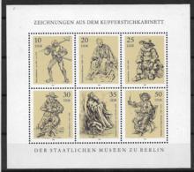 DDR Kleinbogen 2347-2352 ** - Bloques