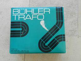 Transformateur BUHLER TRAFO - Modell-Eisenbahn