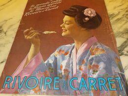ANCIENNE PUBLICITE PATE ALIMENTAIRE RIVOIRE & CARRET 1932 - Afiches