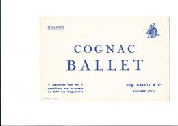 BU 1886 /   BUVARD     - COGNAC  BALLET   JARNAC - Alimentaire