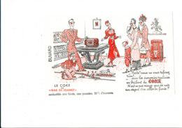 BU 1893 /   BUVARD     -  LE COKE DE GAZ DE FRANCE - Electricity & Gas
