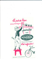 BU 1909 /   BUVARD     -   PEINTURE  NOVEMAIL  LE POT DE PAPA - Verf & Lak