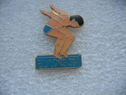 Pin's EL Lons (ESPERANCE LEDONIENNE Natation) Dépt 39 - Nuoto