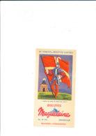 BU 1950  /   BUVARD     BISCOTTES     MAGDELEINE     DRAPEAU DES BANDES DE PICARDIE SOUS LOUIS XI - Biscotti