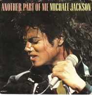 """MICKAEL JACKSON """"ANOTHER PART OF ME - ANOTHER PART OF ME (instrumental)"""" DISQUE VINYL 45 TOURS - Vinyl Records"""