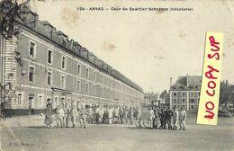 00490 ARRAS // COUR DU QUARTIER SCHRAMM (INFANTERIE) // TIMBRE //  ECRITE - Arras