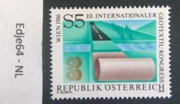 Oostenrijk 1986 Internationaal Geotextielcongres - 1945-.... 2nd Republic