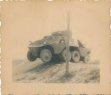 Photo Originale : VI Militaire - Polizei PZ KW - Allemagne 1940-1945 (BP) (5 Cm X 5,5 Cm) - Guerra, Militari