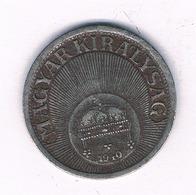 10 FILLER 1940  HONGARIJE /6661/ - Hungary