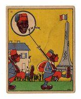 Chromo Banania, N° 22, Tour Eiffel - Banania
