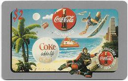 USA - Sprint - Coca Cola Score Board '95 - SBI-466 - Coca Cola Adv. #25, Remote Mem. 2$, 12.1995, 7.100ex, Mint - Sprint