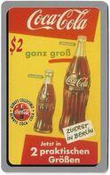 USA - Sprint - Coca Cola Score Board '95 - SBI-457 - Coca Cola Adv. #16, Remote Mem. 2$, 12.1995, 7.100ex, Mint - Sprint
