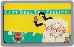 USA - Sprint - Coca Cola Score Board '95 - SBI-465 - Coca Cola Adv. #24, Remote Mem. 2$, 12.1995, 7.100ex, Mint - Sprint
