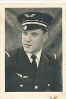 Carte-photo : Portrait Militaire - Aviation : Personnel Non Naviguant - Officier (BP) - Krieg, Militär