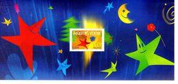 """"""" MEILLEURS VOEUX 2005 """"  Sur Bloc Souvenir De 2005  N° YT BS 3 En Parfait état ! - Souvenir Blocks & Sheetlets"""