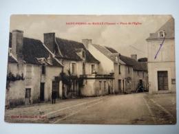 86 Saint Pierre De Maillé, Place De L'église (A2p53) - Otros Municipios