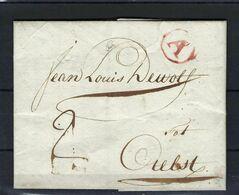 VOORLOPER 1794 VANUIT Antwerpen NAAR Aelst - 1794-1814 (Französische Besatzung)