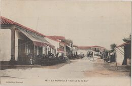CP Dept 11 Aude PORT LA NOUVELLE Avenue De La Mer Version Colorisée - Port La Nouvelle