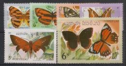 Laos - 1982 - N°Yv. 406 à 411 - Papillons - Neuf Luxe ** / MNH / Postfrisch - Laos
