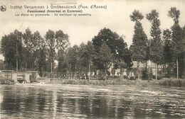 Grobbendonck / Grobbendonk : Institut Vercammen --- Pensionnat ---Leerlingen Op Wandeling 1913 - Grobbendonk