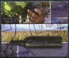 Argentine - 2007 - Yt 2649 Et 2652 - Paysages Et Vignobles - Oblitérés - Oblitérés