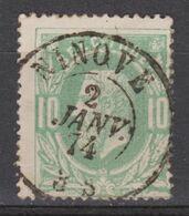 N° 30 DC Ninove 1874 - 1869-1883 Leopoldo II
