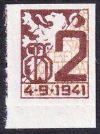 1941 Belgique Belgium - LABEL / CINDERELLA / VIGNETTE Tax Member Stamp - Coat Of Arms / Lion - Revenue Stamps