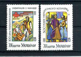 1992 UCRAINA SET MNH ** - Ukraine