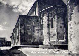 Porto Torres  - Sassari - La Basilica - Monumento Nazionale - Formato Grande Viaggiata – E 17 - Sassari