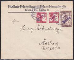 Slovenia, Chainbreakers, Maribor, Postage Due Provisionals, Philatelic Cover, February 1919 - 1919-1929 Kingdom Of Serbs, Croats And Slovenes