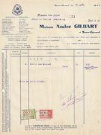 Saint-Gérard / Maison André Gilbart - Monopoles Et Spécialités De Boissons Alcoolisées - Ambachten