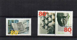 Nederland NVPH N°177/1772 Gecombineerde Uitgave -- PAYS BAS Yv  N°1638/1640  Culture Anniversaires  MNH  Neuf ** (1998) - Neufs