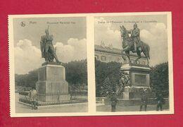 C.P. Metz = Monument  Maréchal NEY  = Statue  De L' Empereur Guillaume 1 Er à  L' Esplanade - Metz