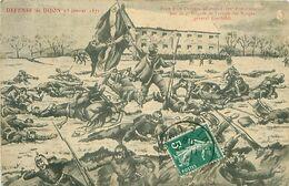 DÉFENSE DE DIJON 23 JANVIER 1871 - PRISE D'UN DRAPEAU ALLEMAND PAR LA 4EME BRIGADE DE L'ARMÉE DES VOSGES - Dijon