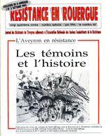Résistance En  Rouergue Résistants En Aveyron Colloque De St-Affrique Des 1 Et 2 Octobre 1993 - Midi-Pyrénées