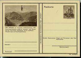Carte Illustrée Neuve N° 404. 101/2. - 4802 EBENSEE Am Traunsee (télésièges) - Entiers Postaux