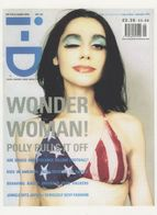 PJ Polly Harvey Wonder Woman Pop Star Magazine Postcard - Other