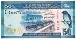 Sri Lanka - 50 Rupees - 2010.01.01 - Unc. - Pick 124.a  - Serie V/6 - Sri Lanka