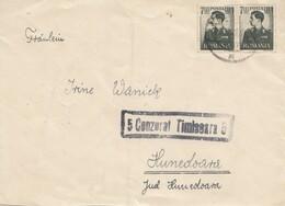 Rumänien: 1943: Brief Nach Hunedoara Mit Zensr - Unclassified