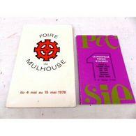 Foire Mulhouse 1978 Poesie D Alsace N° 26 - Autres