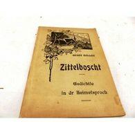 Zittelboscht Henri Muller 1922 Alsacien - Autres