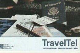 TRAVELTEL  Prepaid USA 2 Scans - Vereinigte Staaten