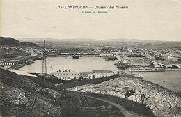 X118182 MURCIA CAMPO DE CARTAGENA CARTAGENA DARSENA DEL ARSENAL - Murcia