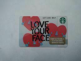 China Gift Cards, Starbucks, 200 RMB, 2020 (1pcs) - Cartes Cadeaux