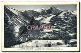 CPA Valloire Gorges De La Valloirette Route D&#39Albanne Perron Des Encombres - Saint Jean De Maurienne