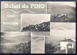 RD277 SALUTI DA PINO , LAGO MAGGIORE - Varese